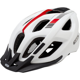 ABUS Aduro 2.0 Kask rowerowy, race white